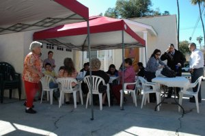 Community members in El Sereno gather for Pozole Fundraiser